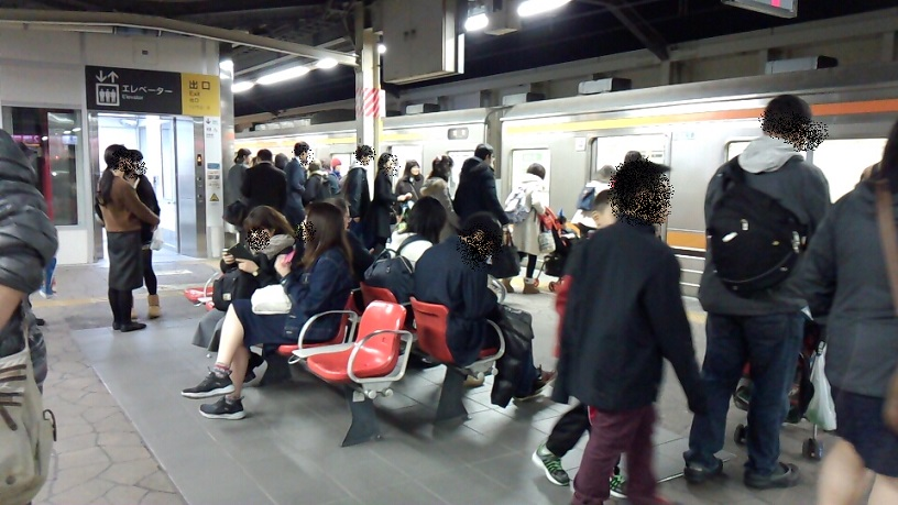 舞浜駅と武蔵野線
