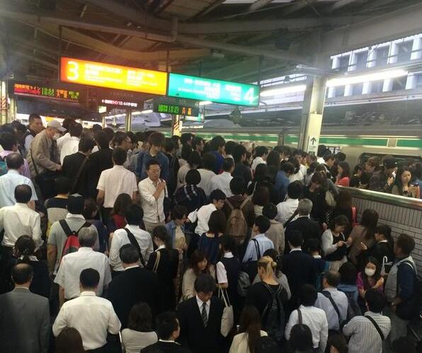 埼京線の混雑