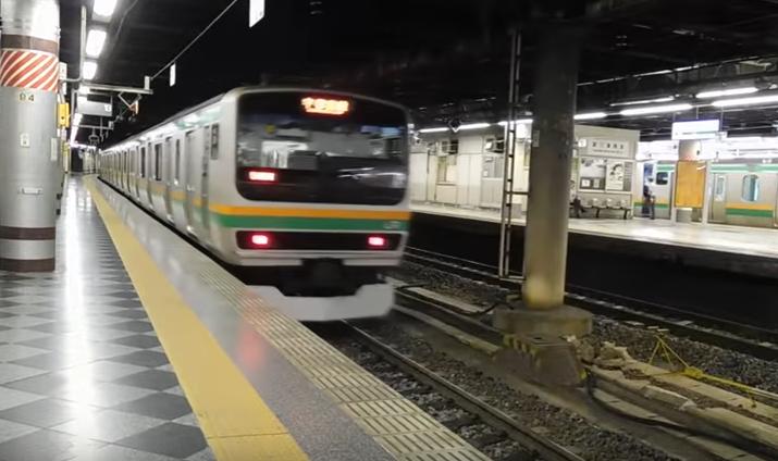 上野駅始発