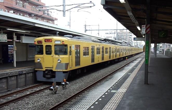 混雑が緩やかな西武新宿線の各停