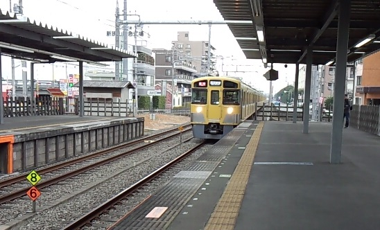 田無駅以北の西武新宿線