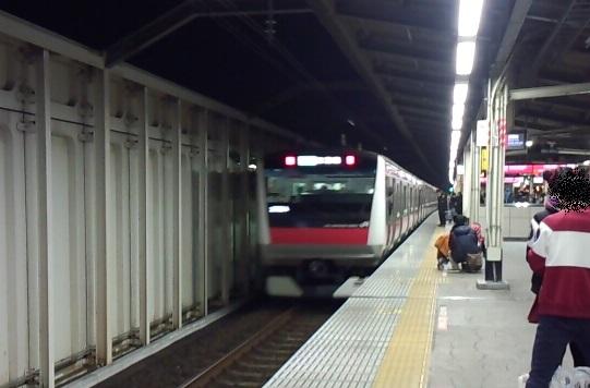 京葉線の混雑区間