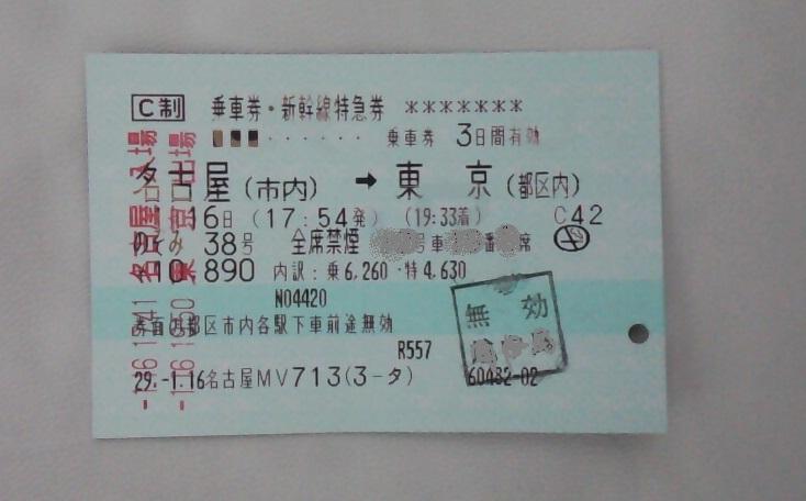 東京都区内の乗車券