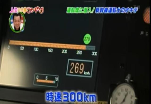 東海道新幹線の最高速度