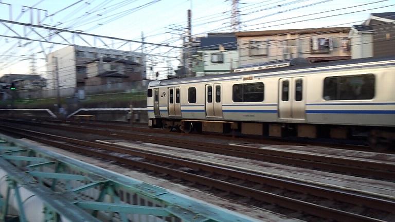 トイレが付いている横須賀線