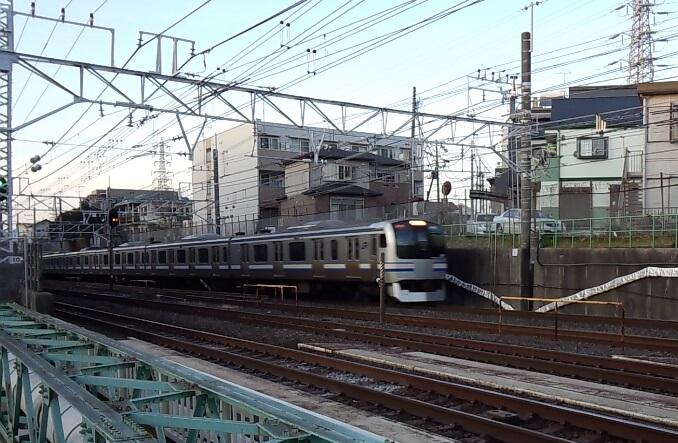横須賀線と総武快速線