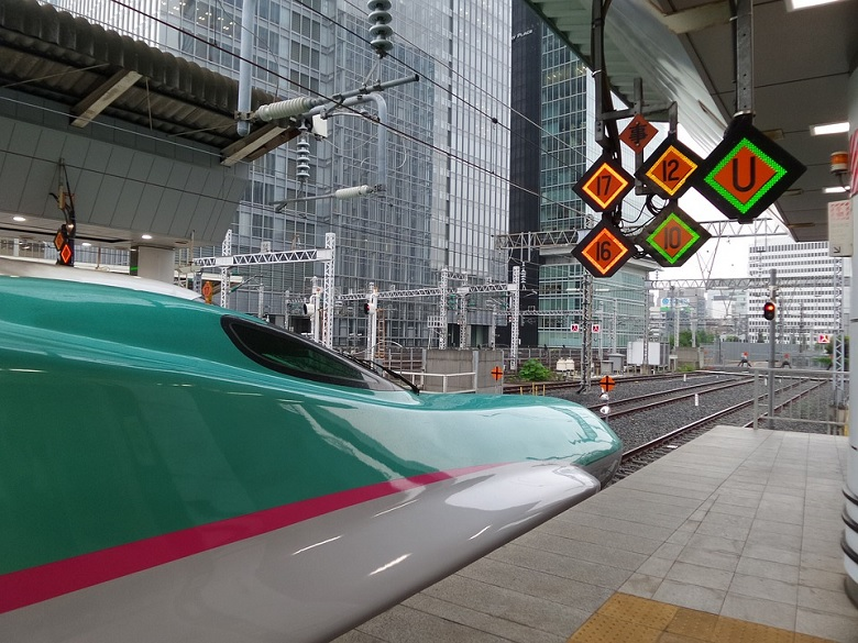 東京駅のなすの号の自由席