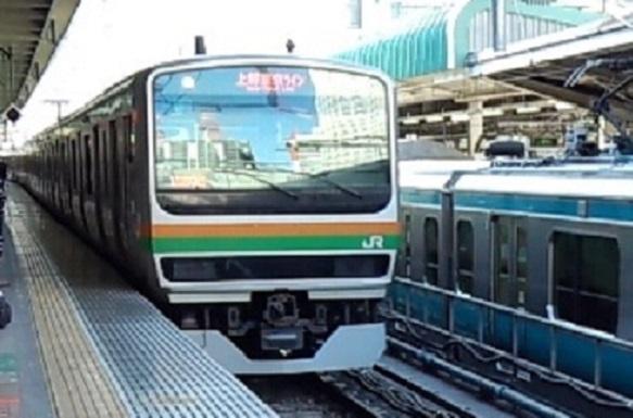 平日の上野東京ライン