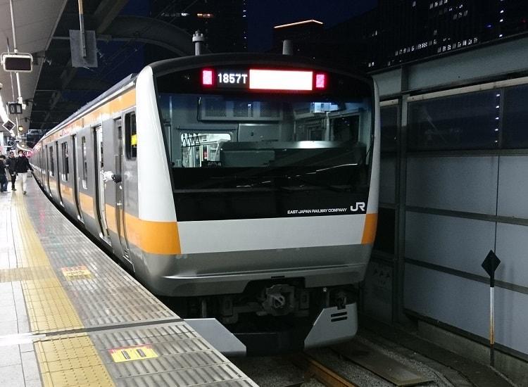 中央線快速の発車メロディ