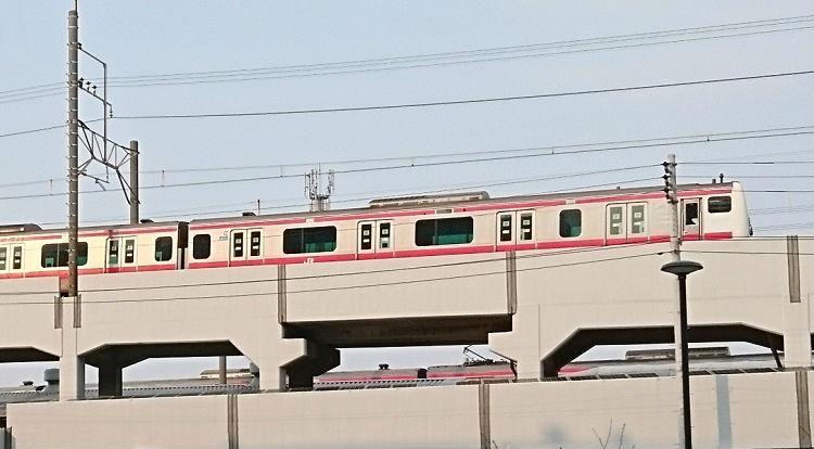 京葉線の乗客数の減少