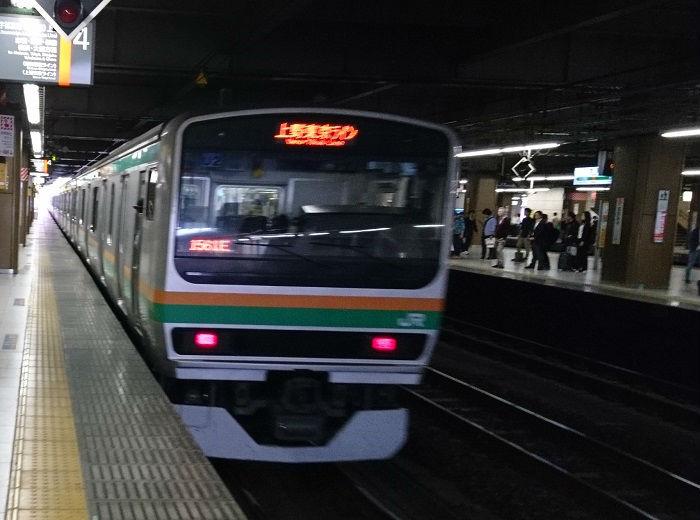 JR東海道線の朝