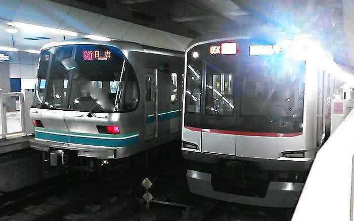 朝の埼玉高速鉄道
