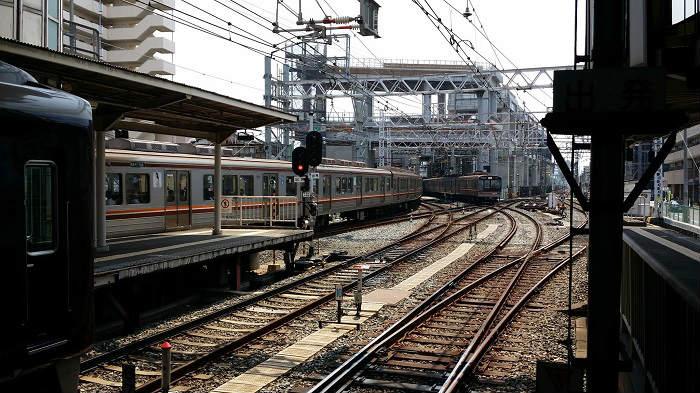 阪急京都線の淡路駅