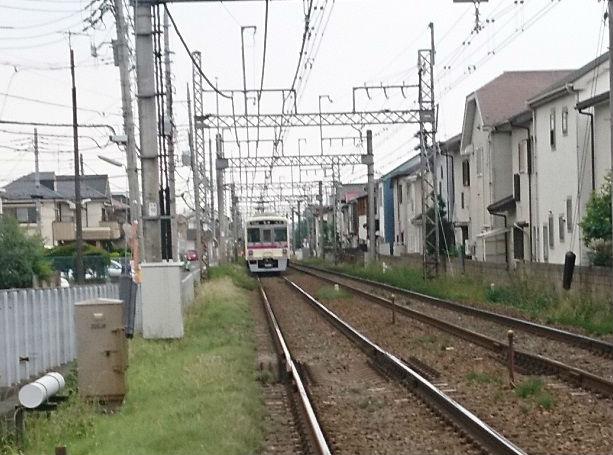 電車の渋滞(京王線)