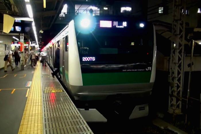 埼京線の帰宅ラッシュ