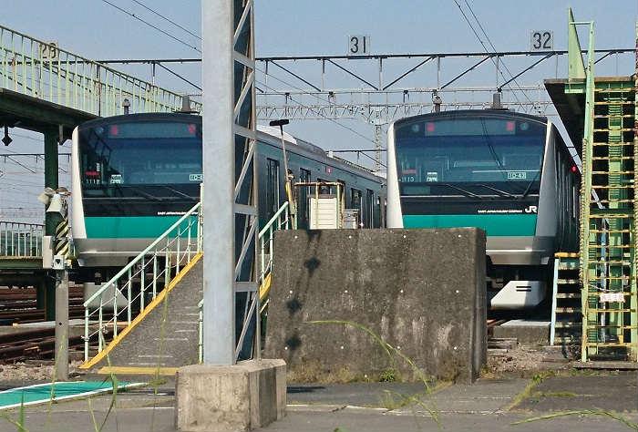 埼京線・川越線の車庫