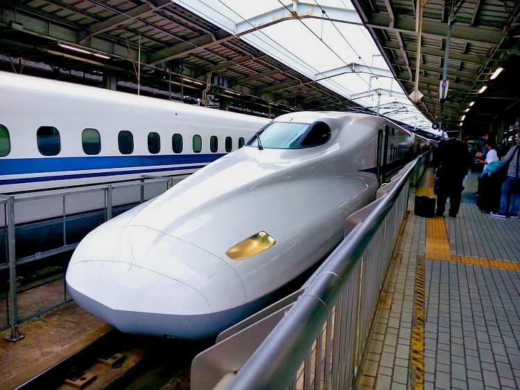 こだま号の静岡駅の自由席の乗車率