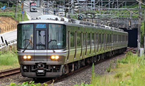 JR京都線の新快速