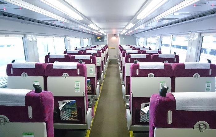 在来線普通列車のグリーン車