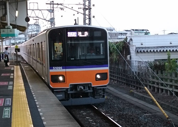 東武東上線の快速急行