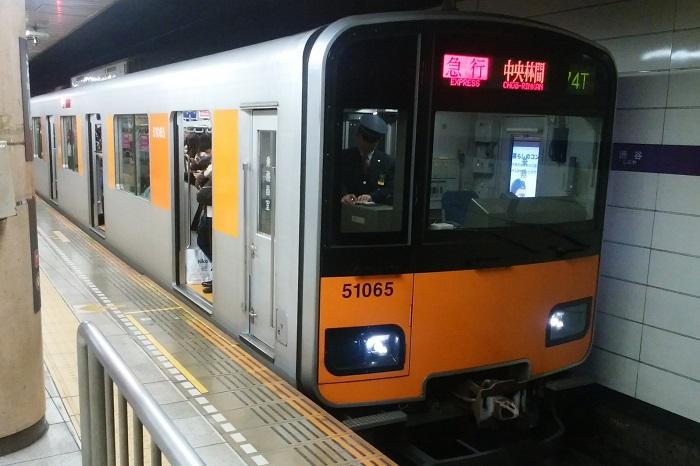 東武スカイツリーラインの混み具合