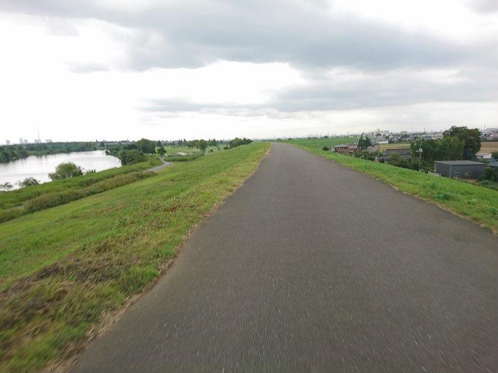 クロスバイクを使った郊外の所要時間