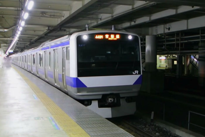 上野東京ライン(常磐線)の帰宅ラッシュ