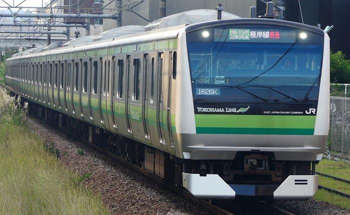 朝の混雑が激しい横浜線