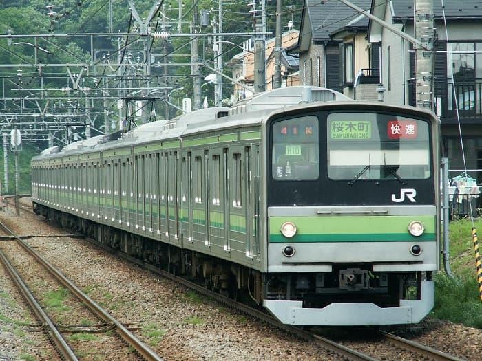 横浜線の205系