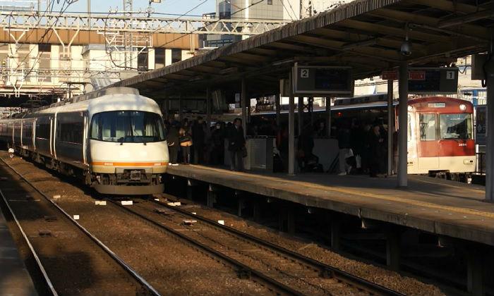 近鉄京都線の朝ラッシュの混雑