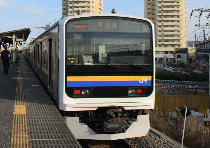 総武本線の209系