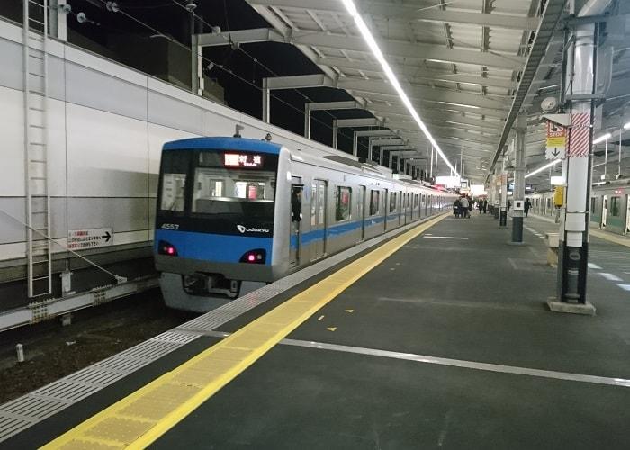 小田急線の帰宅ラッシュ