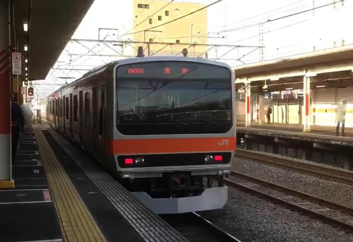 武蔵野線の朝の本数