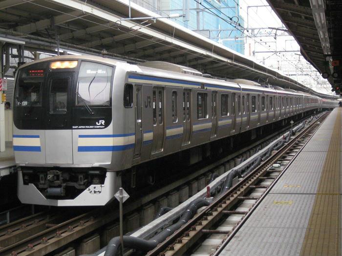 総武本線のグリーン車付のE217系