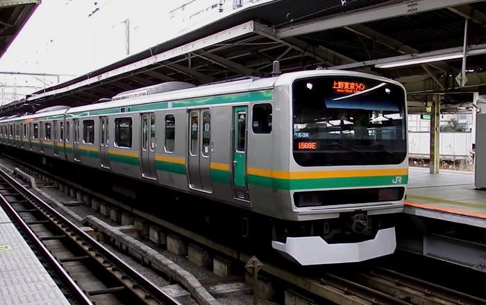 東海道線の通勤快速