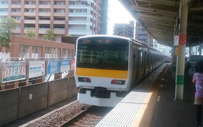 7時台の中央総武緩行線
