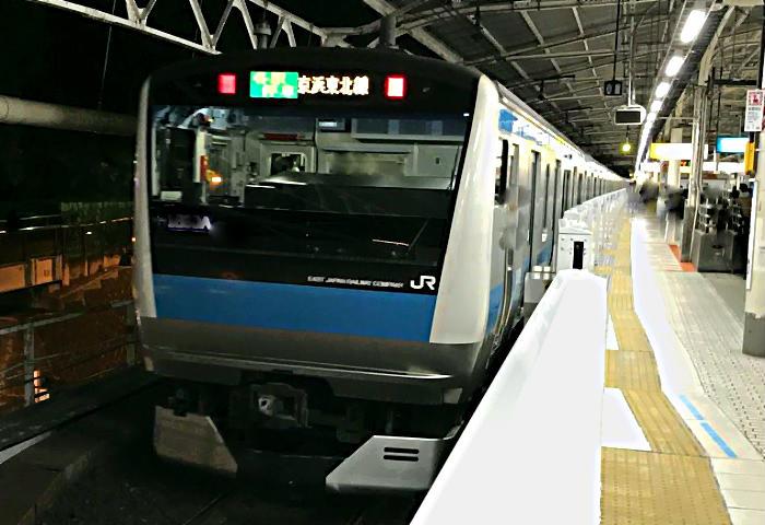 終電 京浜 東北 線