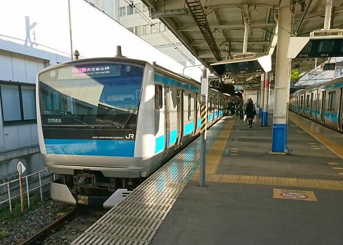 京浜東北線の快速