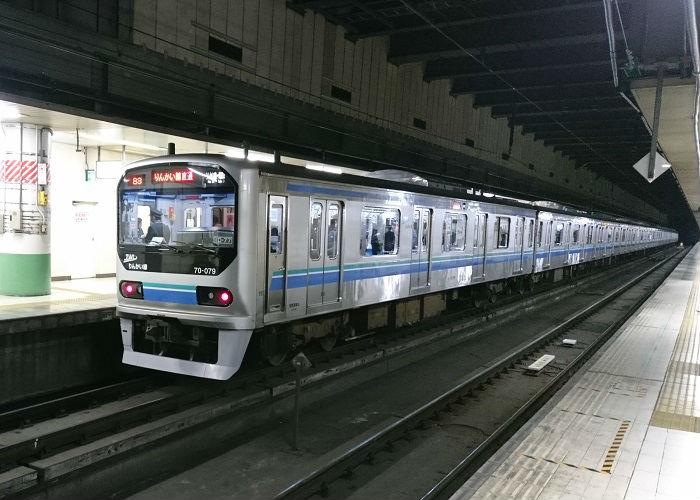 りんかい線と埼京線