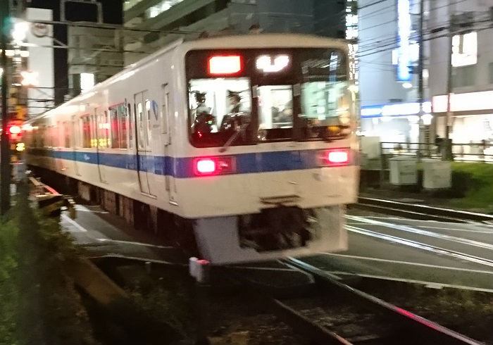 小田急の帰宅ラッシュ