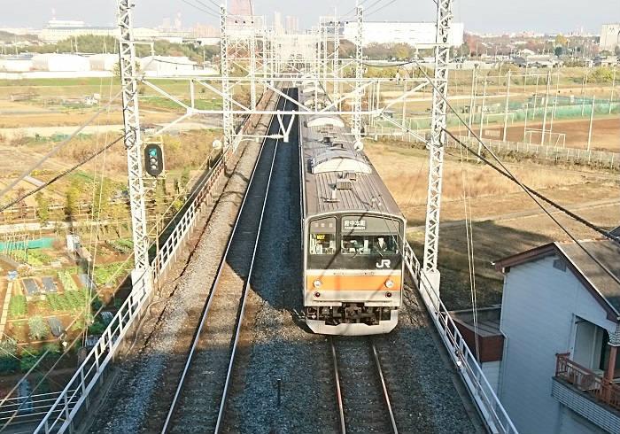 京葉線へ直通する武蔵野線