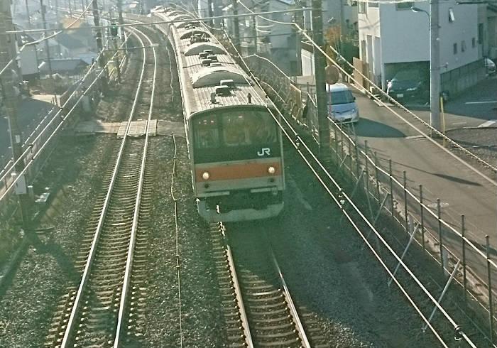 最高速度が遅い武蔵野線