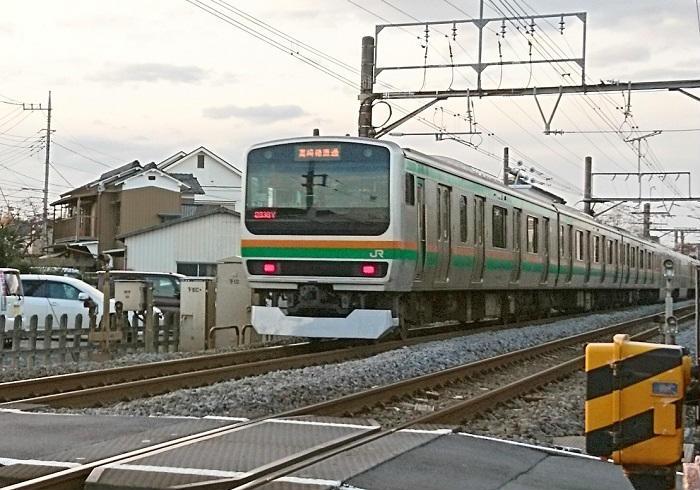 遅い東海道線の東京~熱海間