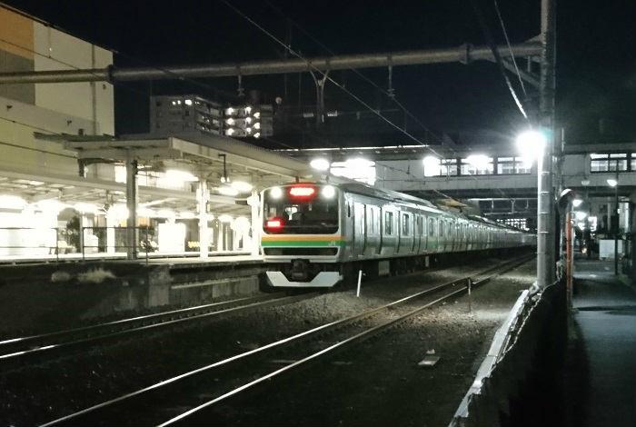 スピードが遅い高崎線