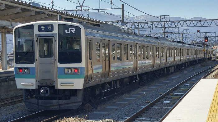 中央東線211系