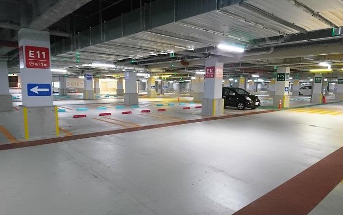 プライムツリー赤池の駐車場の混雑