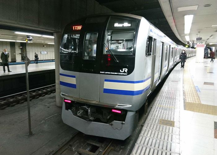 総武線快速のE217系