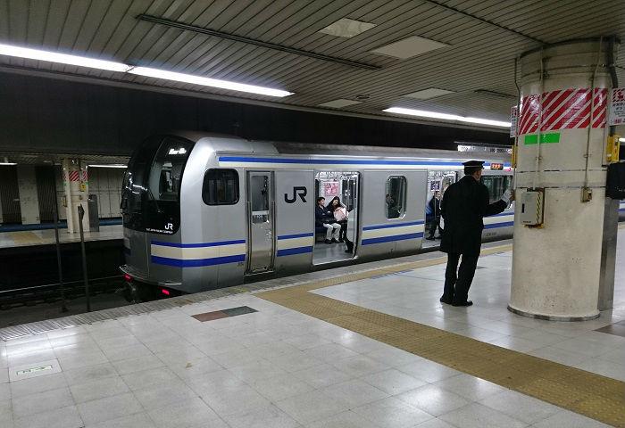 横須賀線の発車メロディ