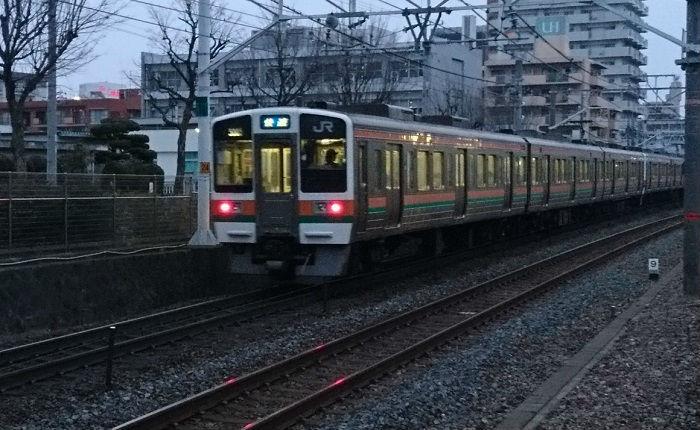 快速がない静岡県内の東海道本線