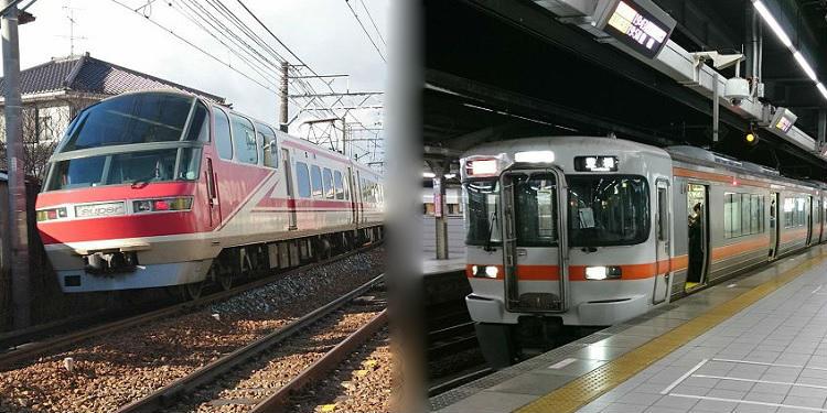 名鉄とJR東海の比較と違い